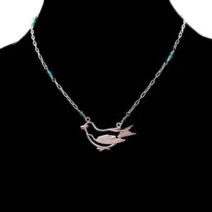 Joshua Benbassat JBB Resting Swallow Necklace